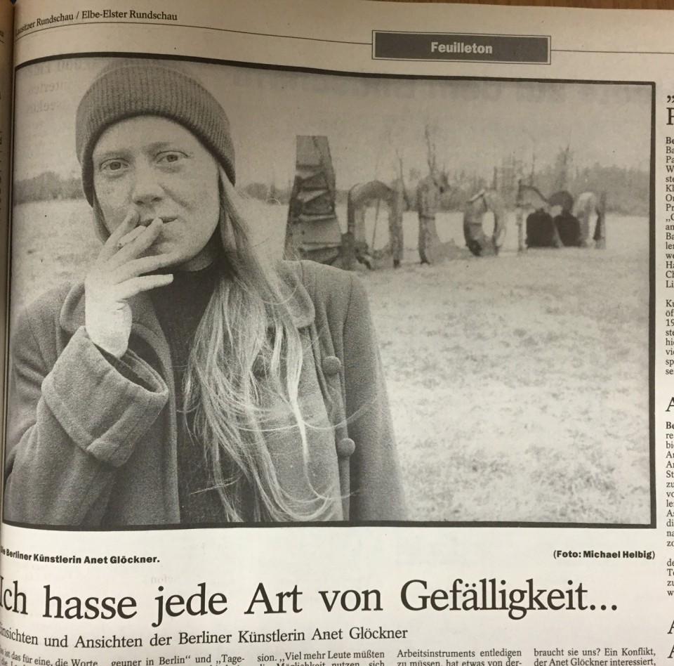Beitrag über Annett Glöckner