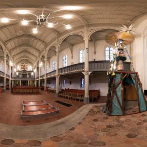 360-Grad-Ansicht der Klosterkirche in Guben