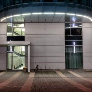 Eingang der Vattenfall-Verwaltung in Cottbus