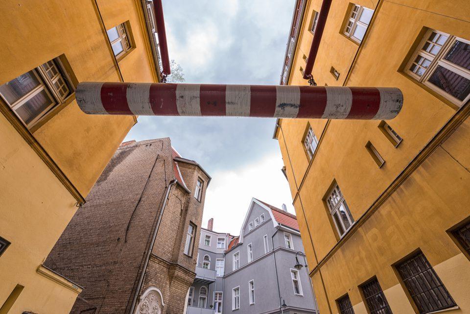 Durchfahrt am Spremberger Turm