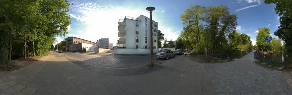 Ostrower Damm 360-Grad-Ansicht