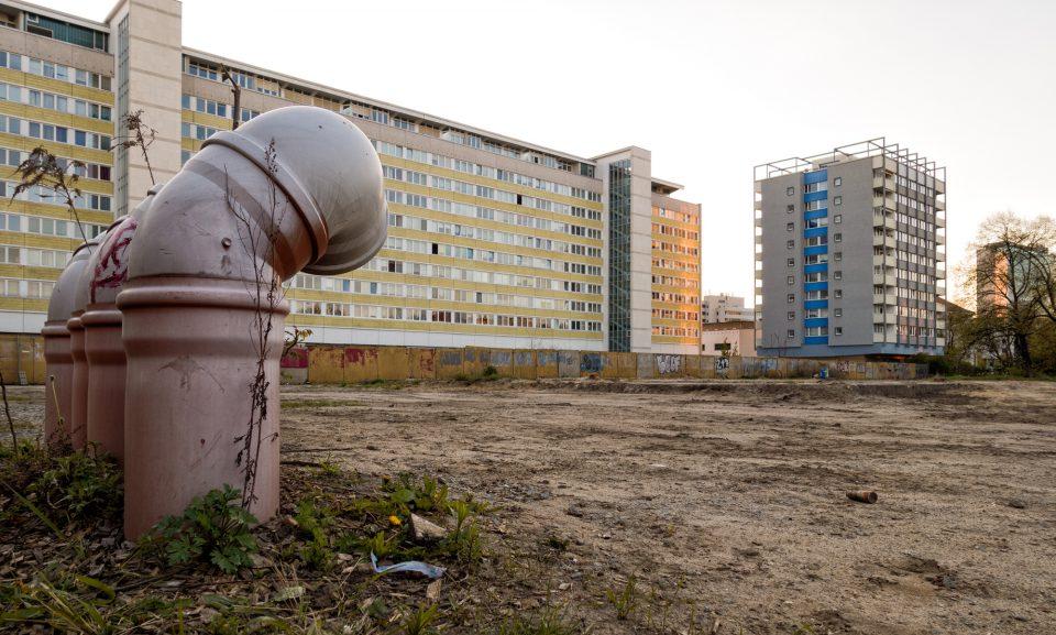 Baugelände mitten in Cottbus