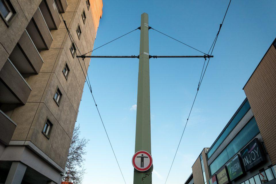 Kreuz in Cottbus